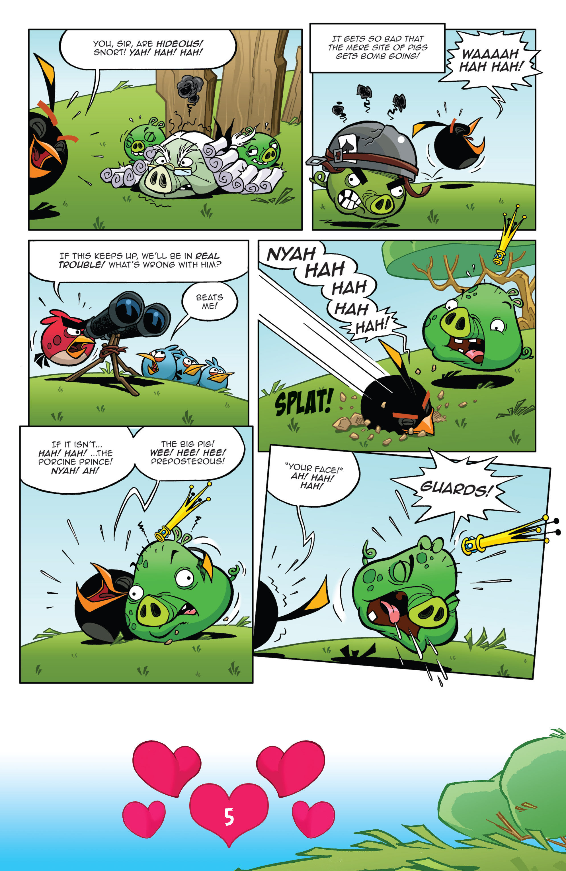 Read online Angry Birds Comics (2016) comic -  Issue #2 - 7