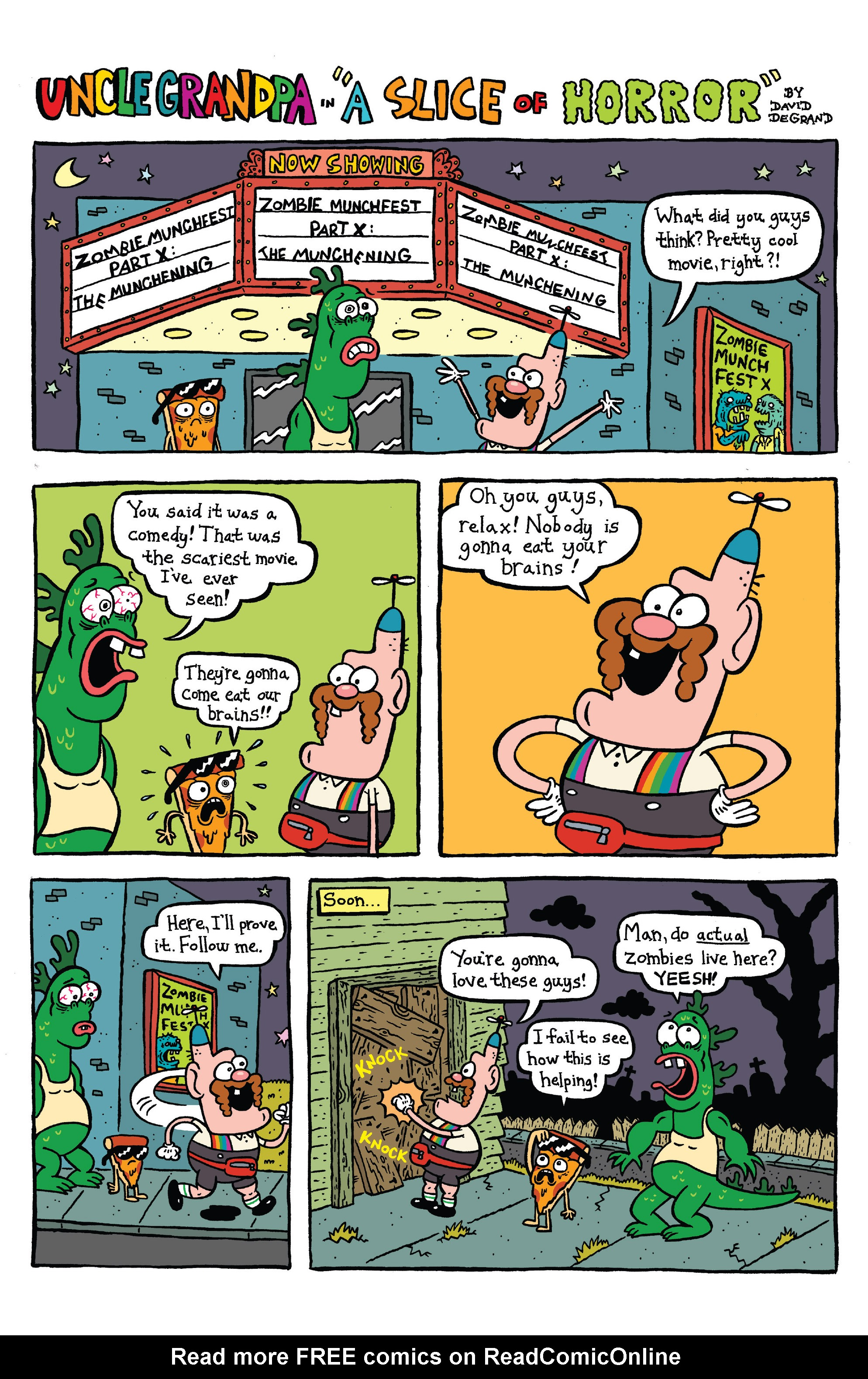 Read online Uncle Grandpa comic -  Issue #4 - 22