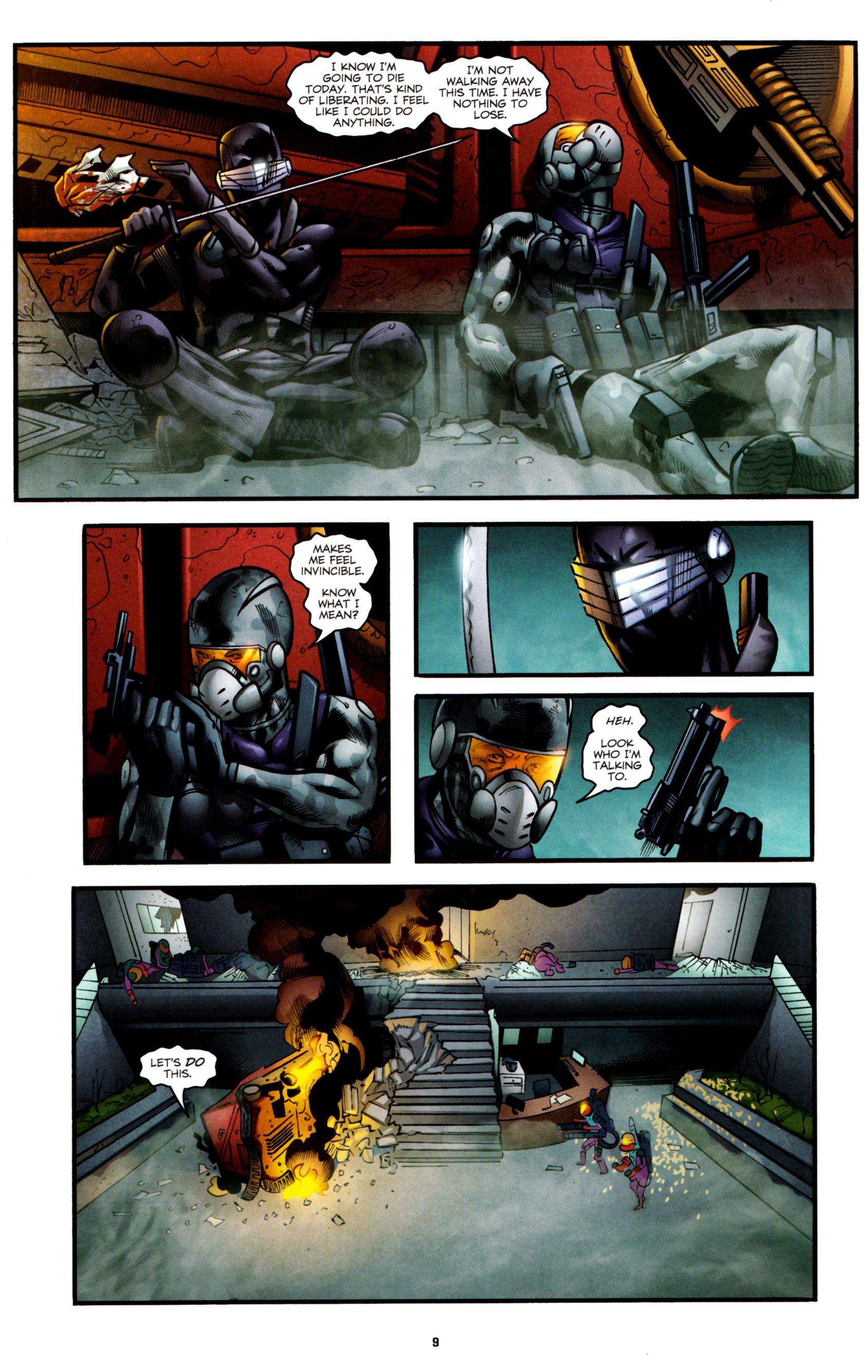 Read online G.I. Joe: Snake Eyes comic -  Issue #8 - 12