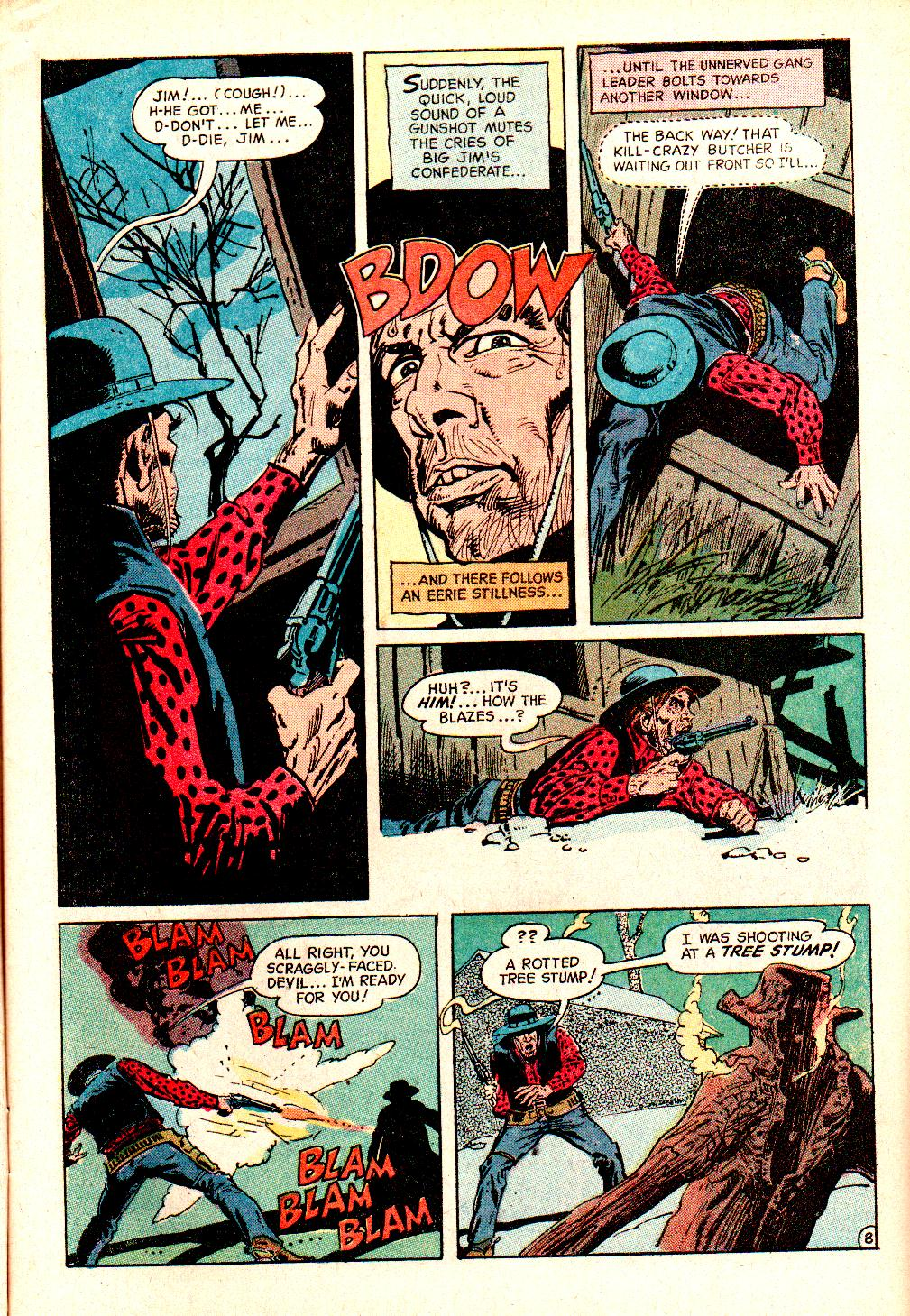 Read online All-Star Western (1970) comic -  Issue #10 - 11