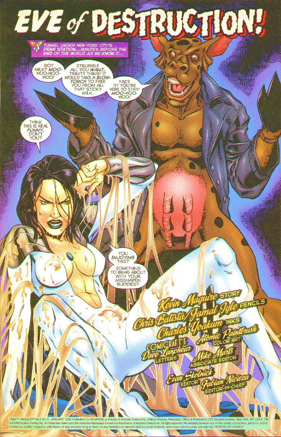 Read online Trinity Angels comic -  Issue #11 - 3