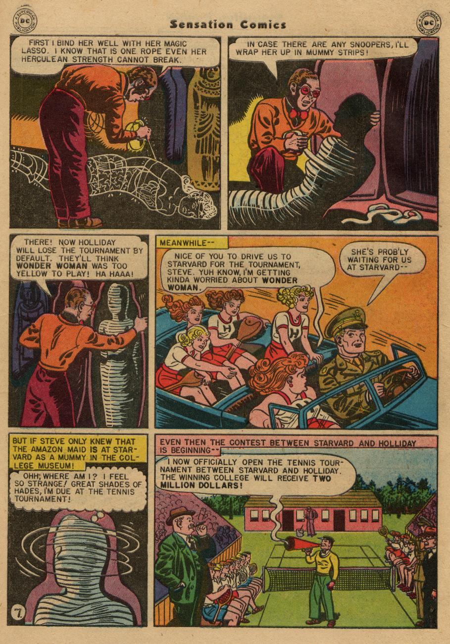 Read online Sensation (Mystery) Comics comic -  Issue #61 - 9