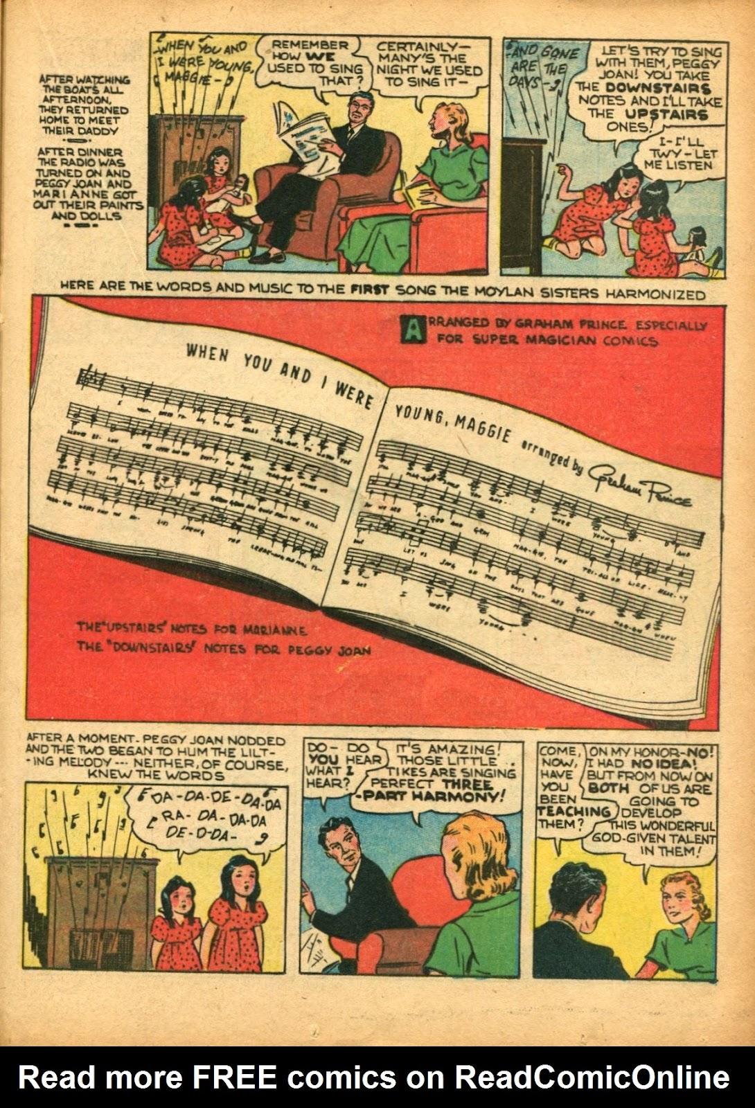 Read online Super-Magician Comics comic -  Issue #5 - 38