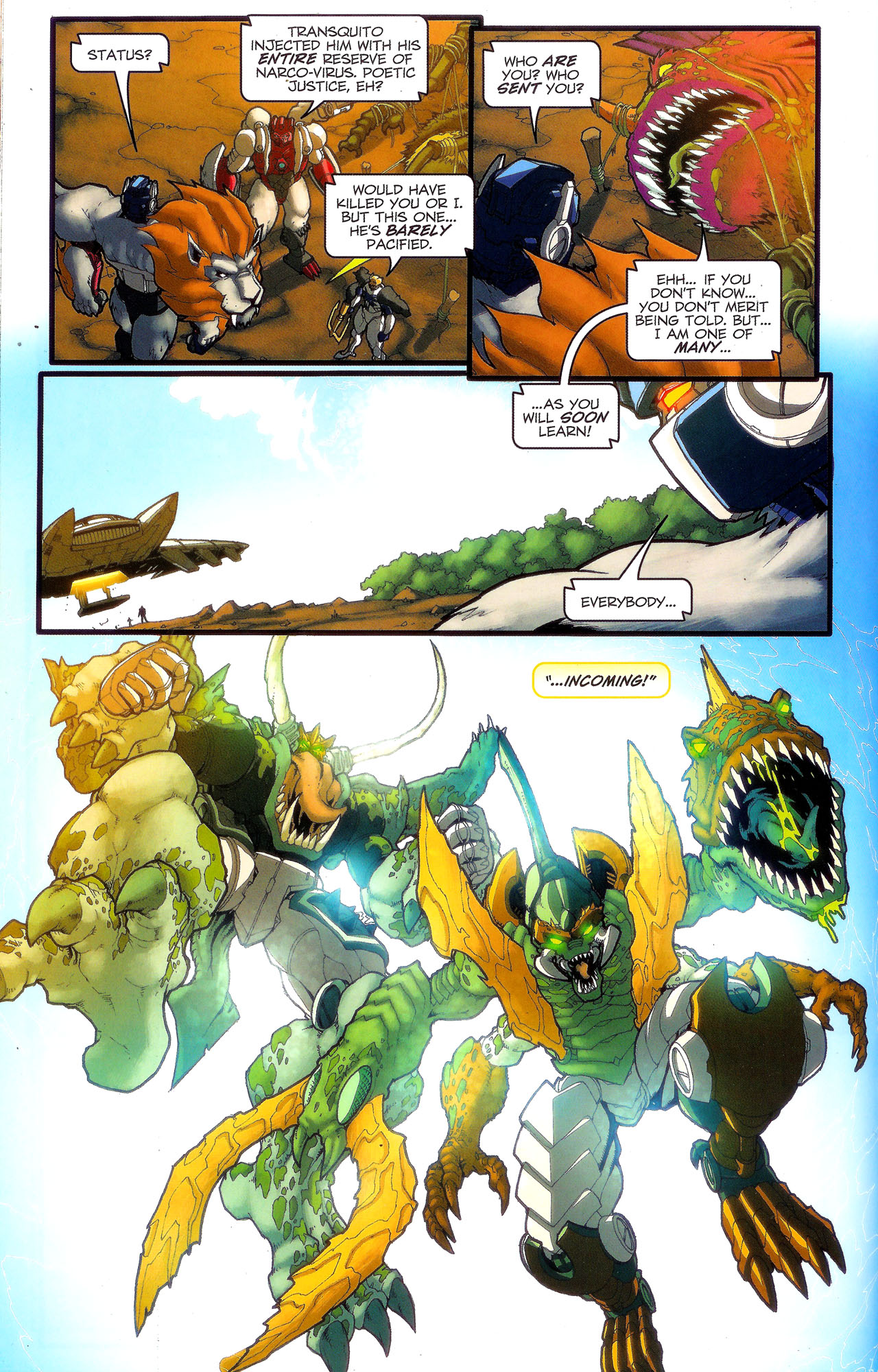 Read online Transformers: Beast Wars: The Ascending comic -  Issue #3 - 19