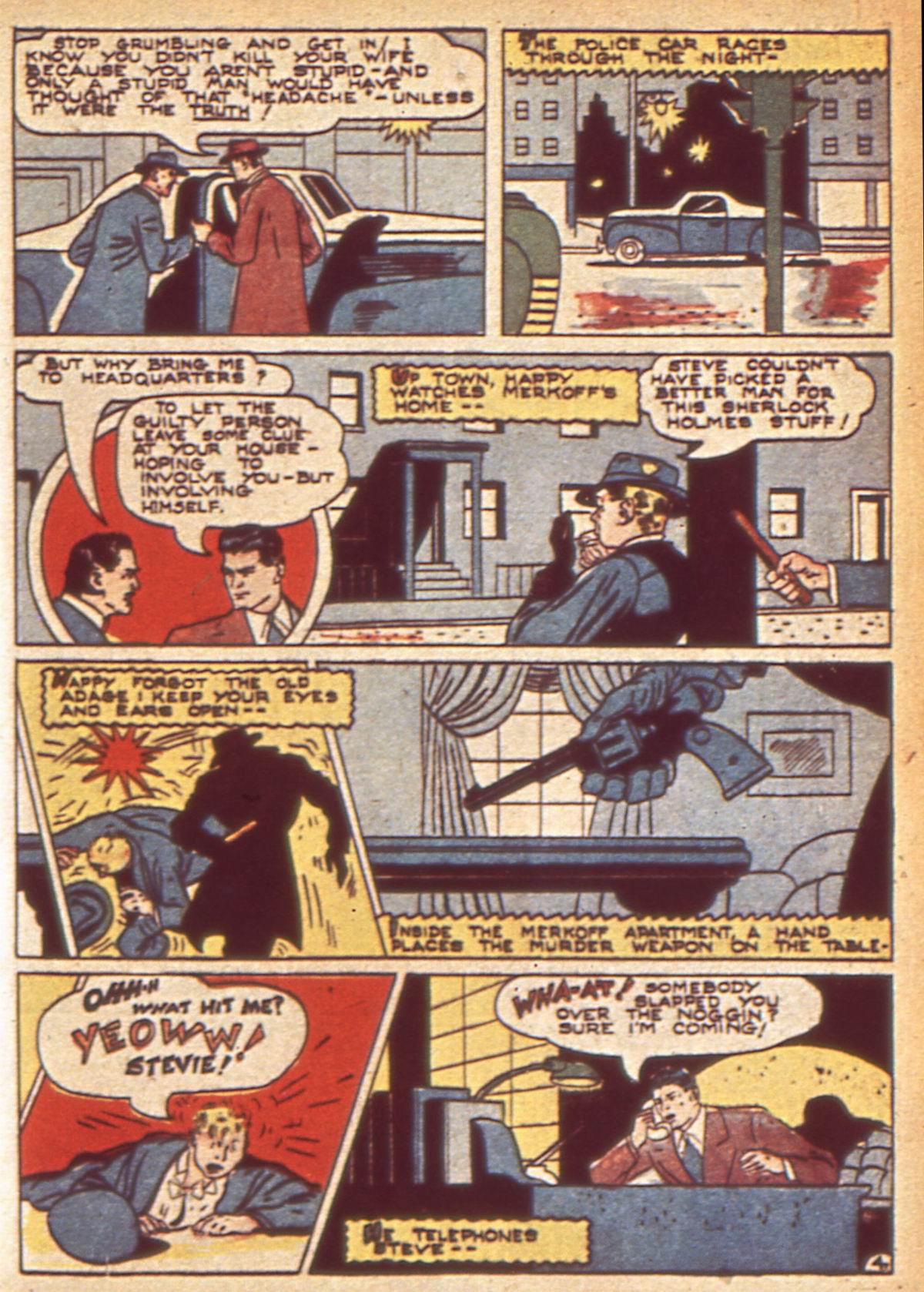 Read online Detective Comics (1937) comic -  Issue #49 - 55