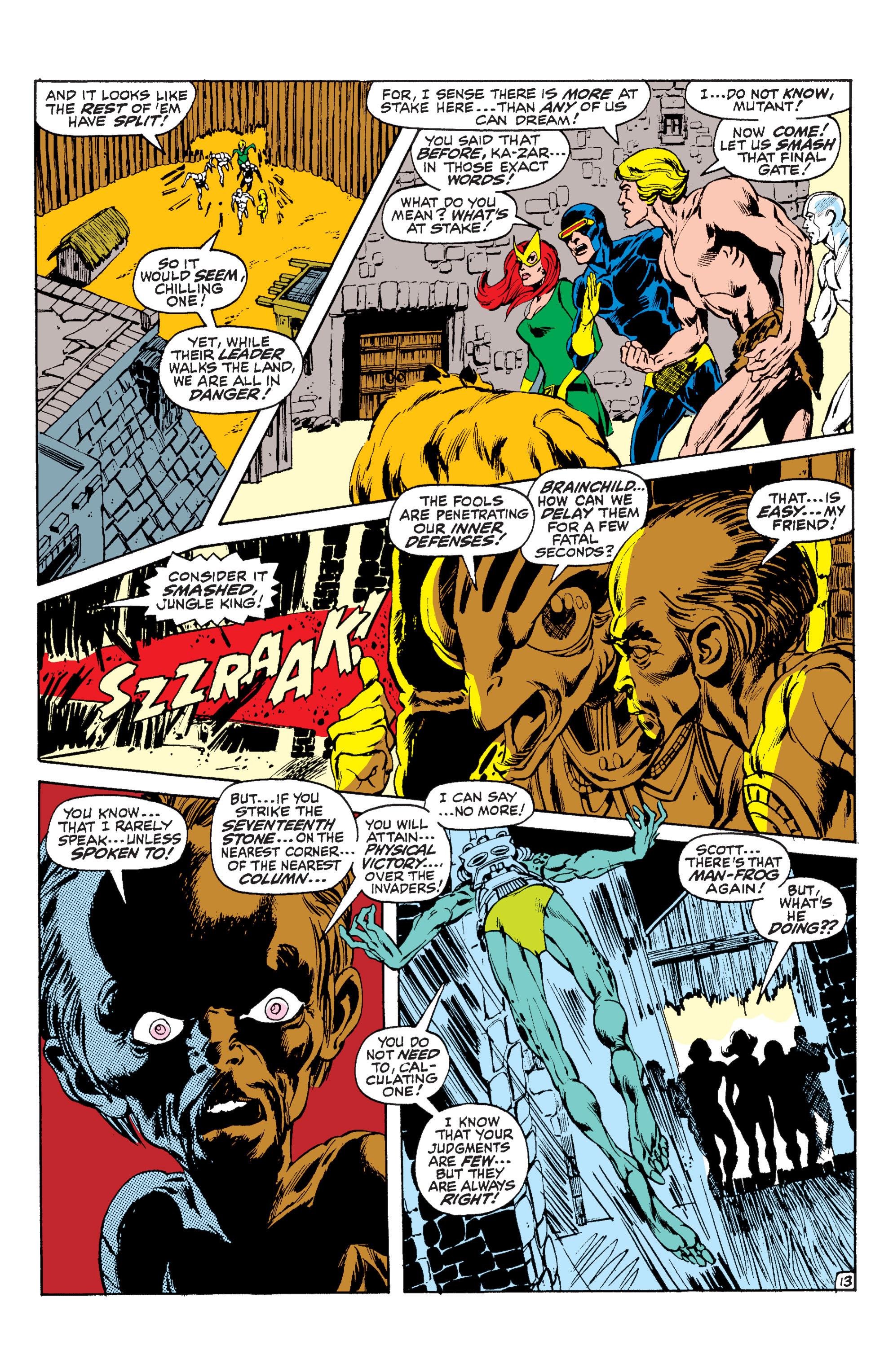 Read online Uncanny X-Men (1963) comic -  Issue #63 - 14