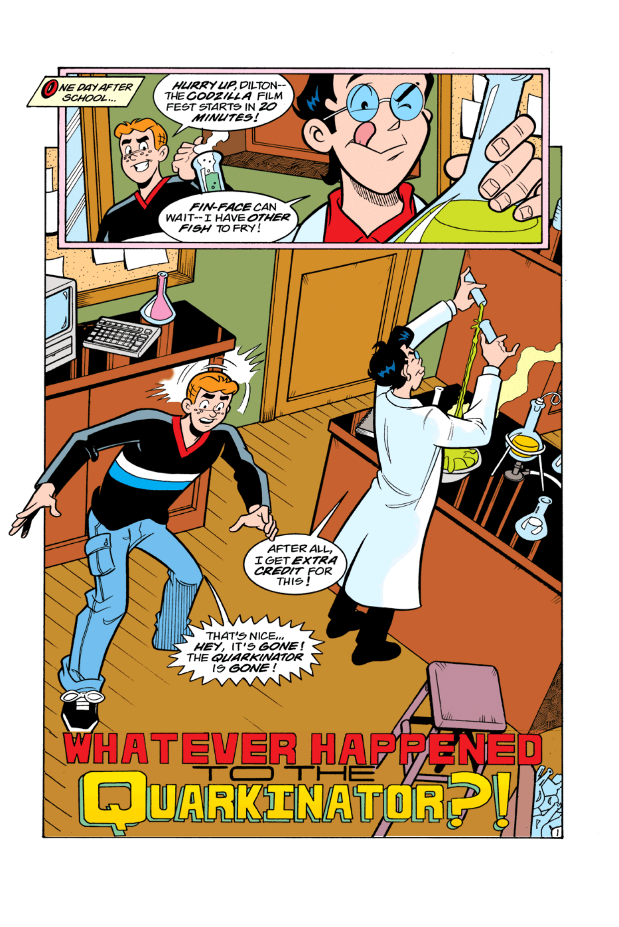 Read online Archie's Weird Mysteries comic -  Issue #4 - 20