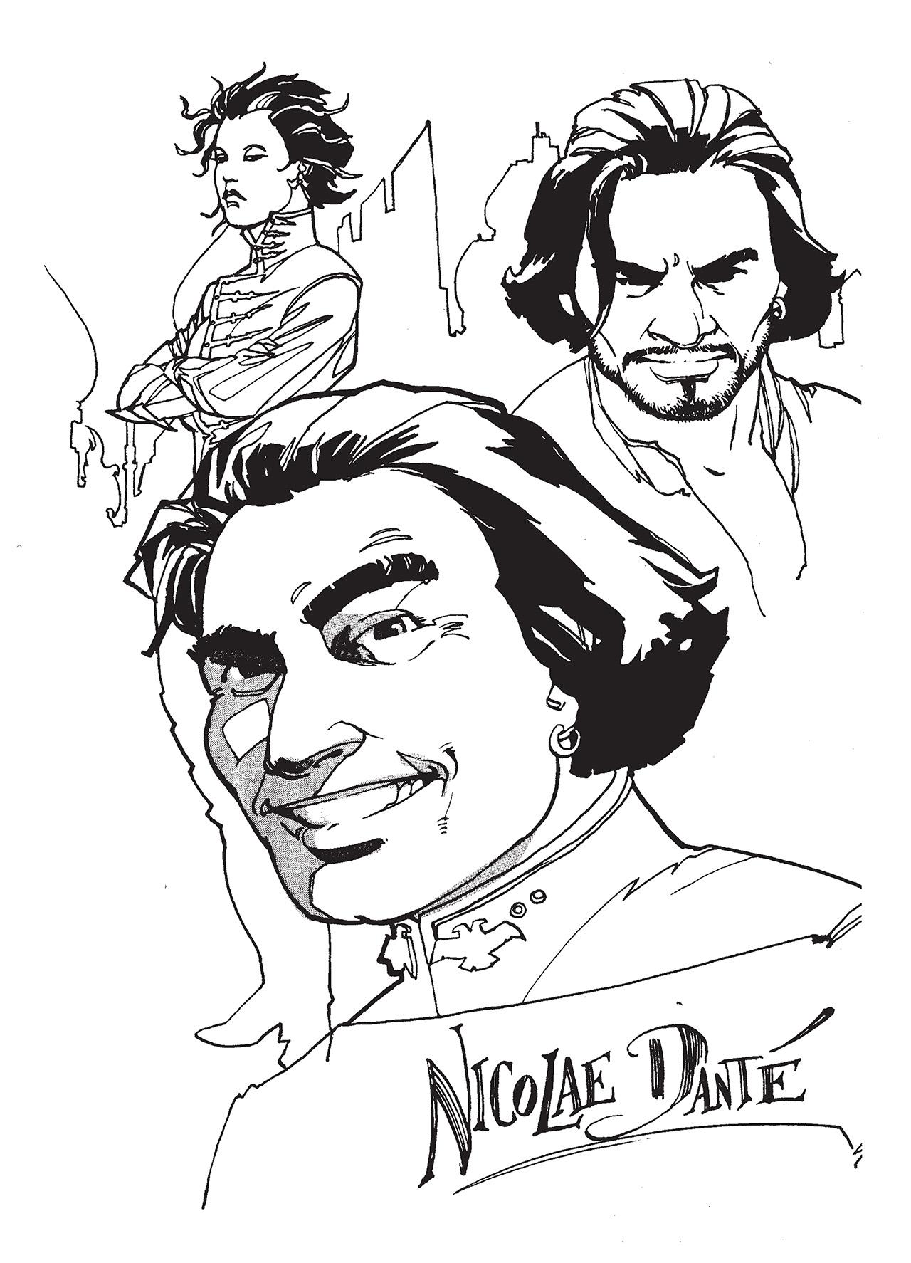 Read online Nikolai Dante comic -  Issue # TPB 1 - 182