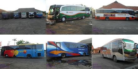 foto bus di taman sari indramayu