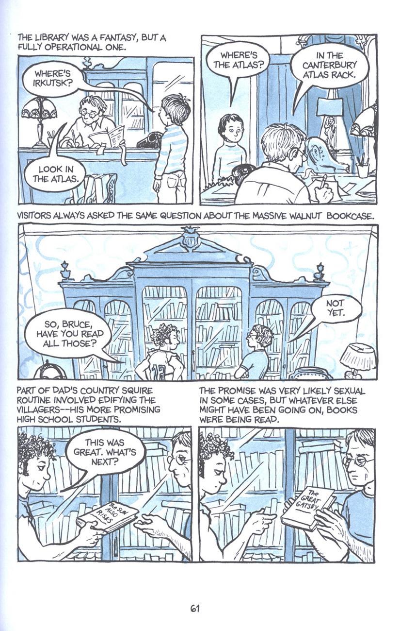 Read online Fun Home: A Family Tragicomic comic -  Issue # TPB - 68