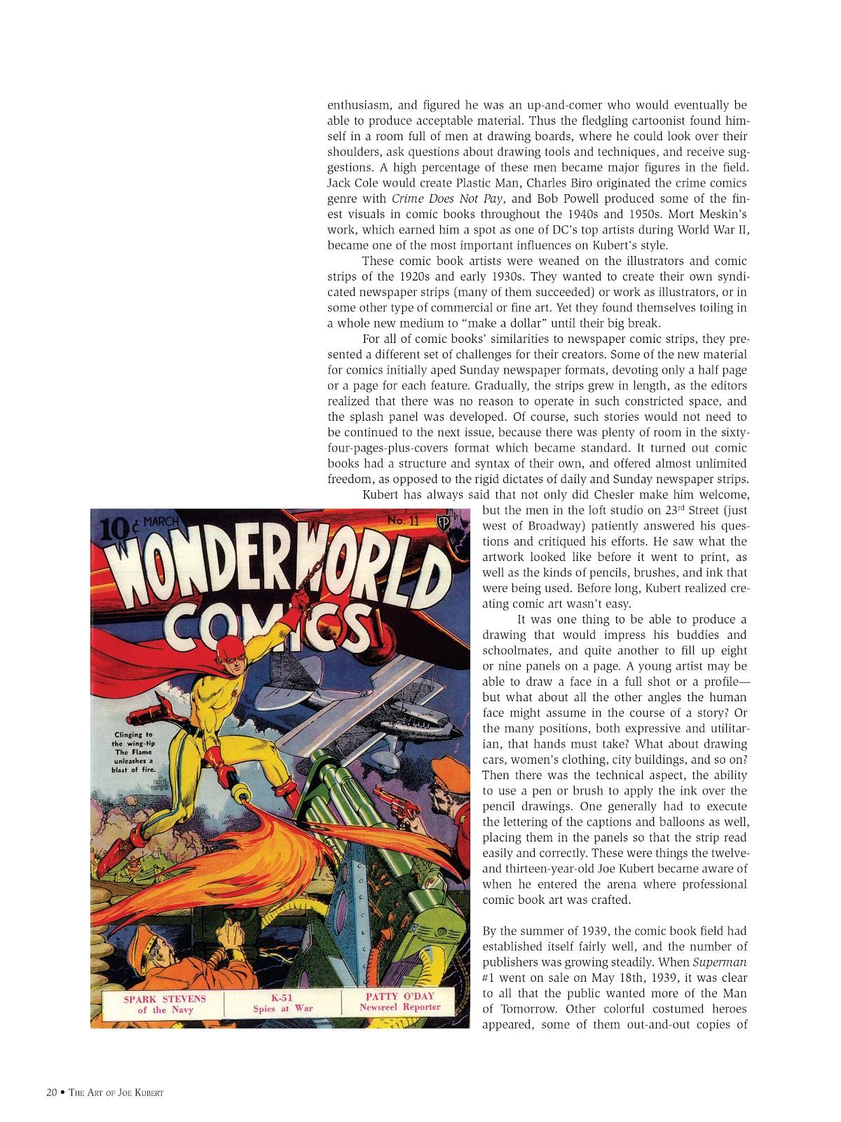 Read online The Art of Joe Kubert comic -  Issue # TPB (Part 1) - 19