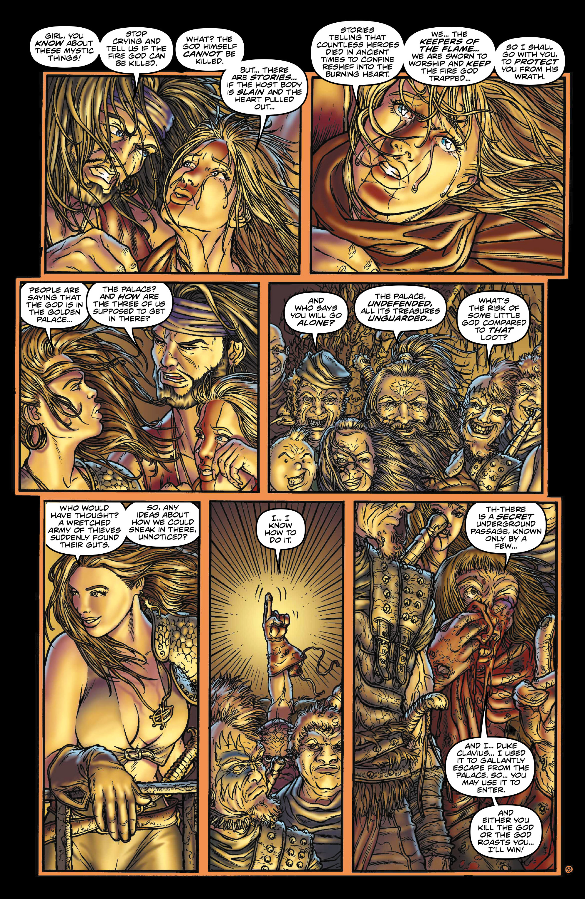 Read online Rogues!: The Burning Heart comic -  Issue #3 - 11