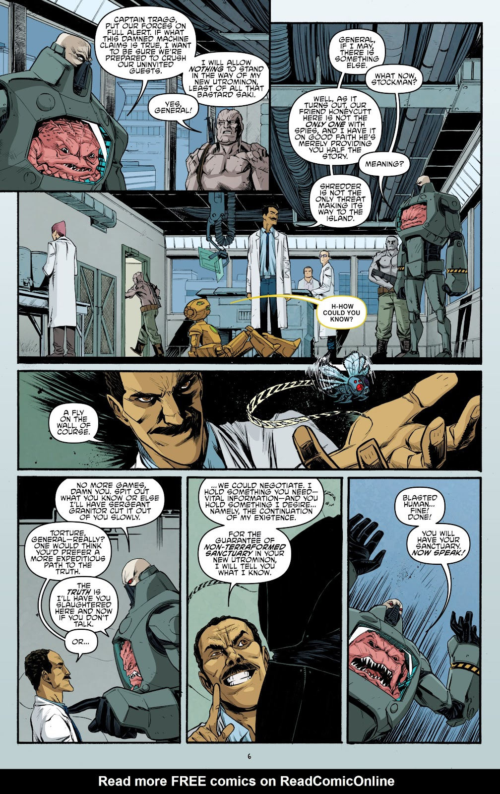 Read online Teenage Mutant Ninja Turtles: The IDW Collection comic -  Issue # TPB 5 (Part 3) - 92