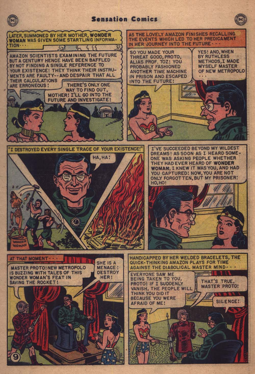 Read online Sensation (Mystery) Comics comic -  Issue #103 - 10