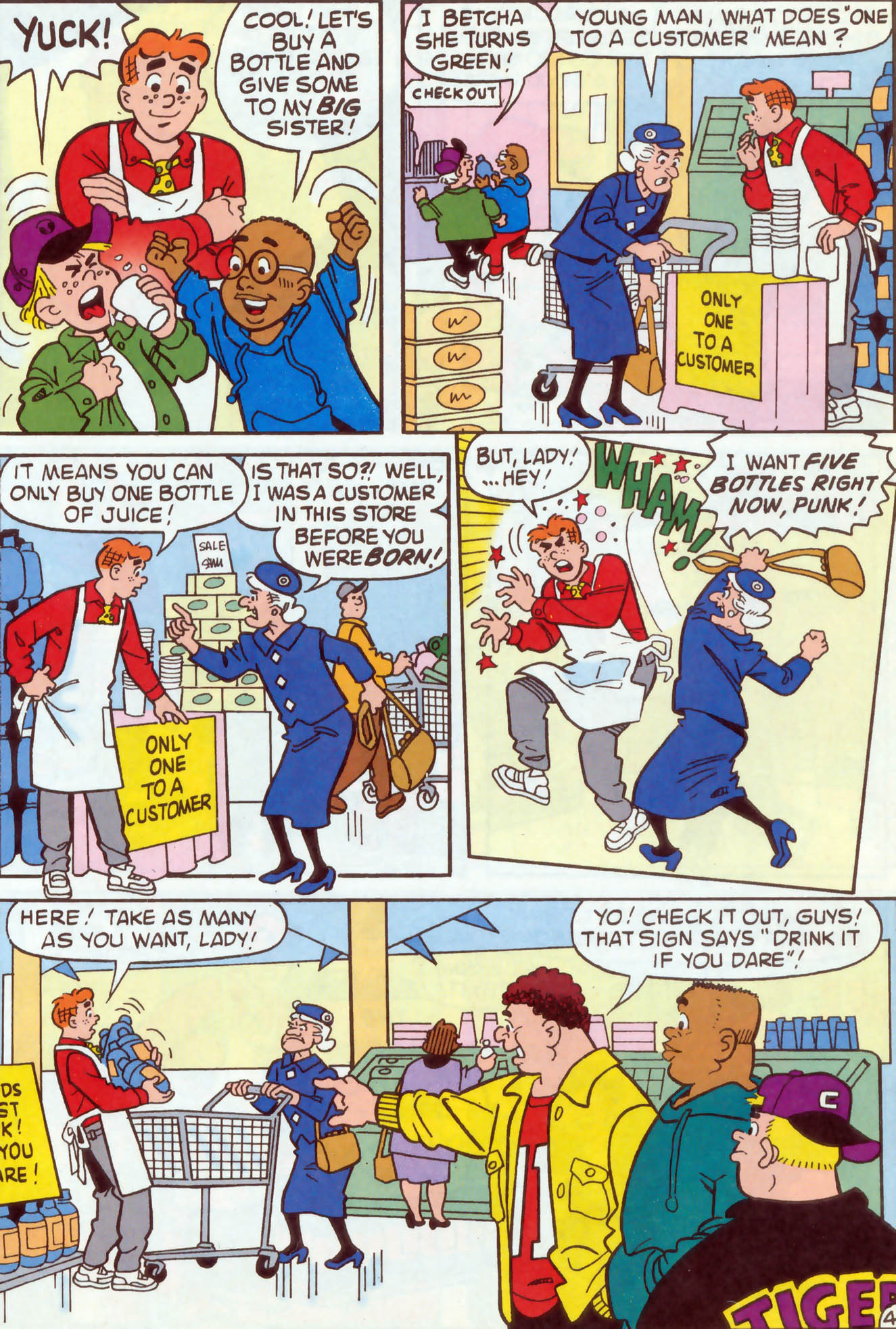 Read online Archie (1960) comic -  Issue #470 - 5