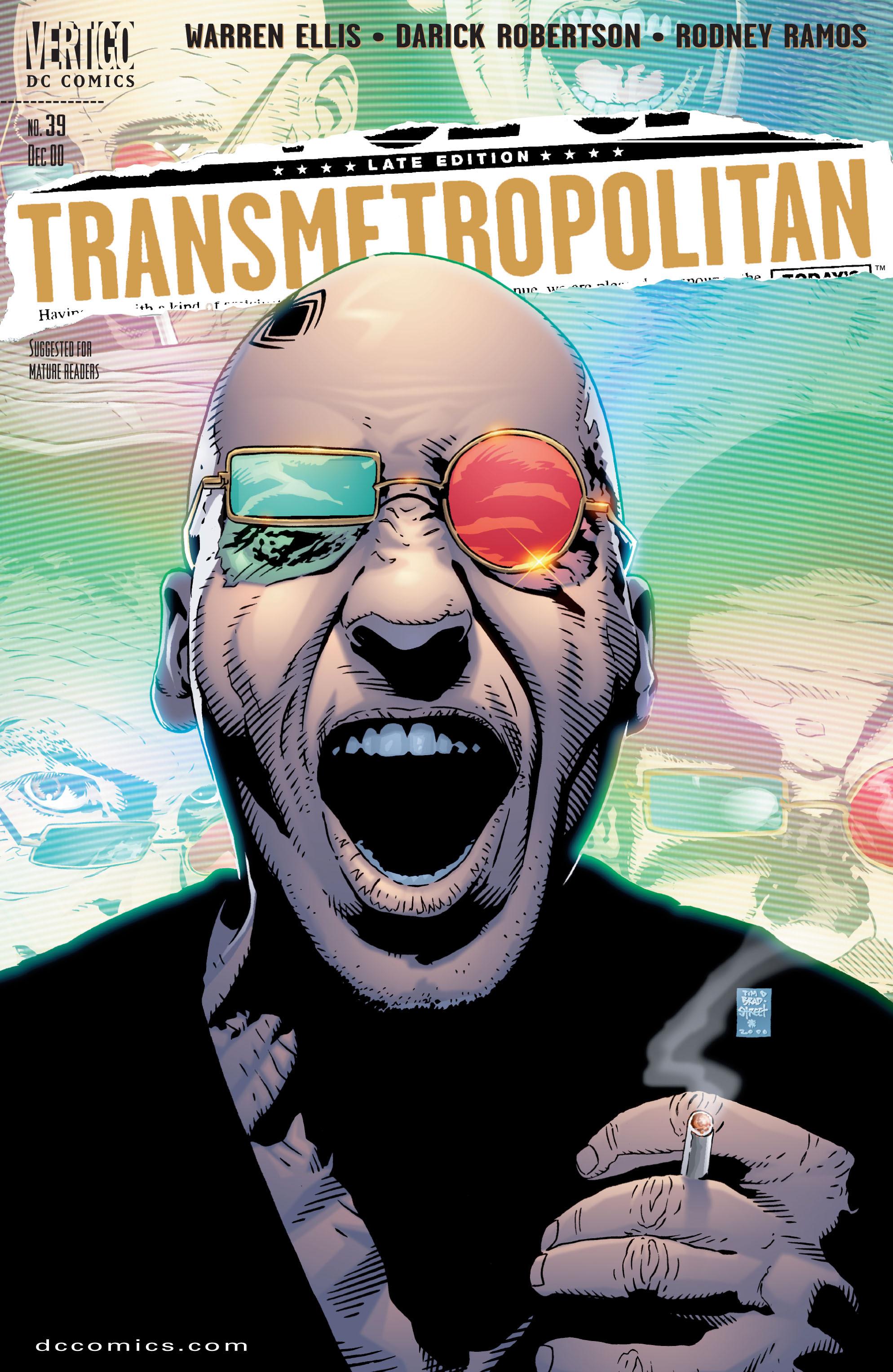 Read online Transmetropolitan comic -  Issue #39 - 1