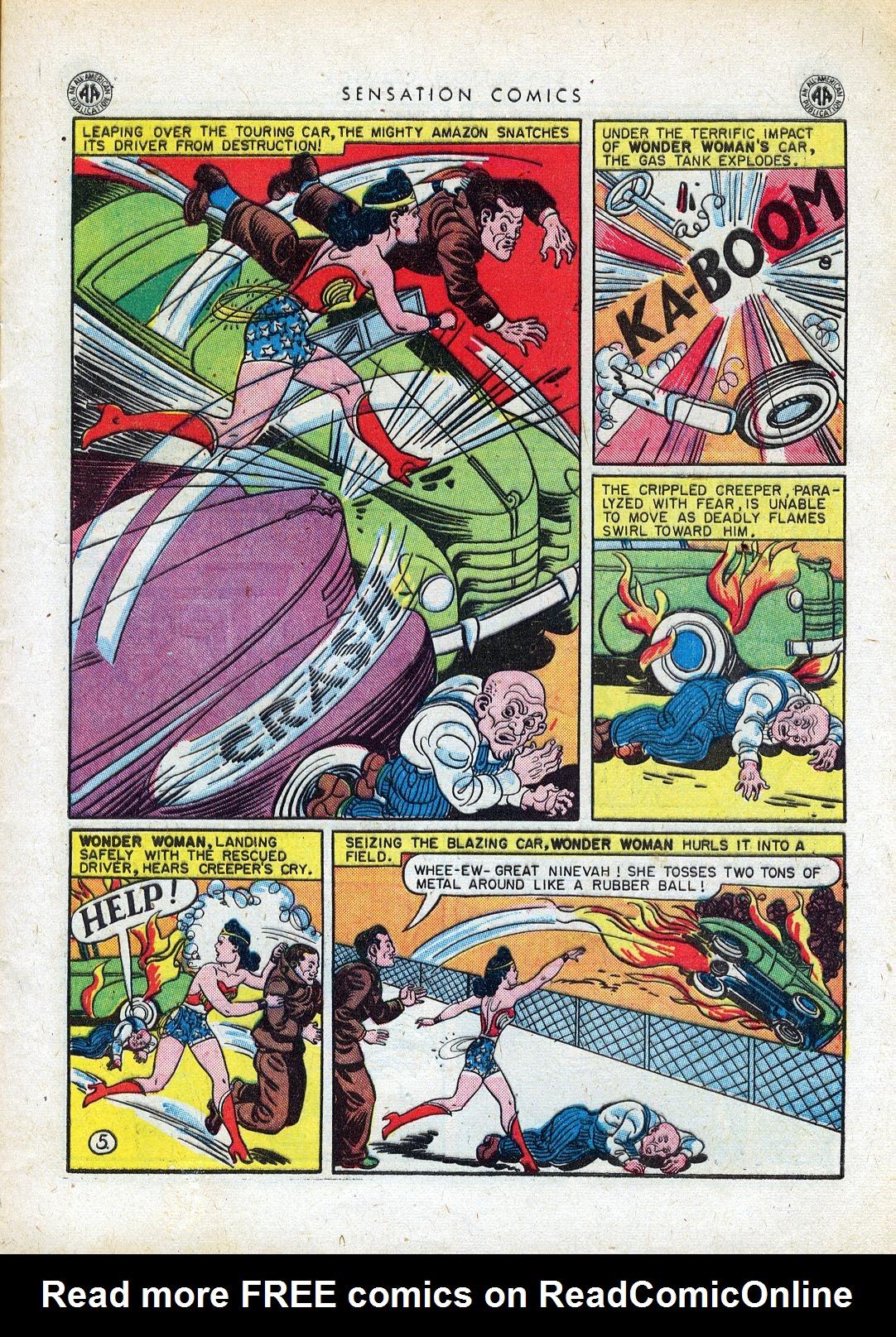 Read online Sensation (Mystery) Comics comic -  Issue #41 - 7