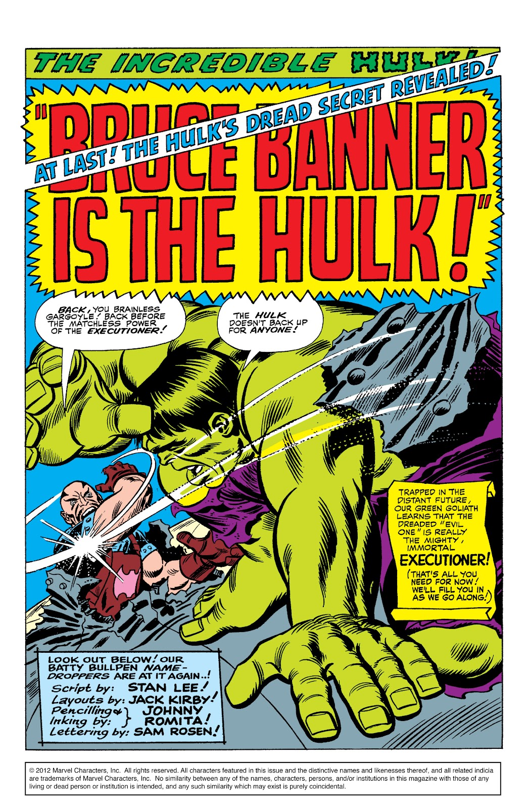 Read online Marvel Masterworks: The Incredible Hulk comic -  Issue # TPB 2 (Part 3) - 12