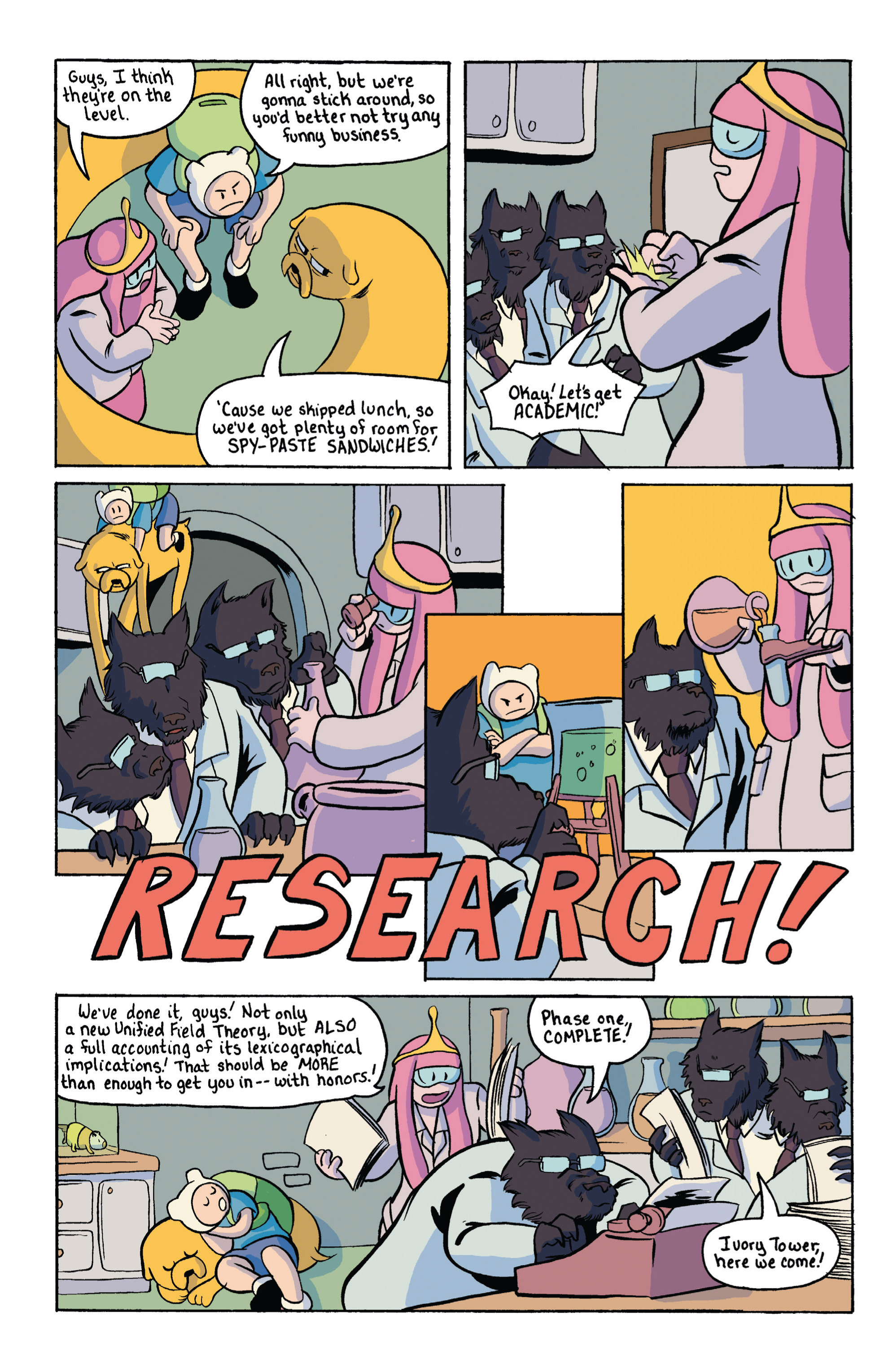 Read online Adventure Time comic -  Issue #18 - 26