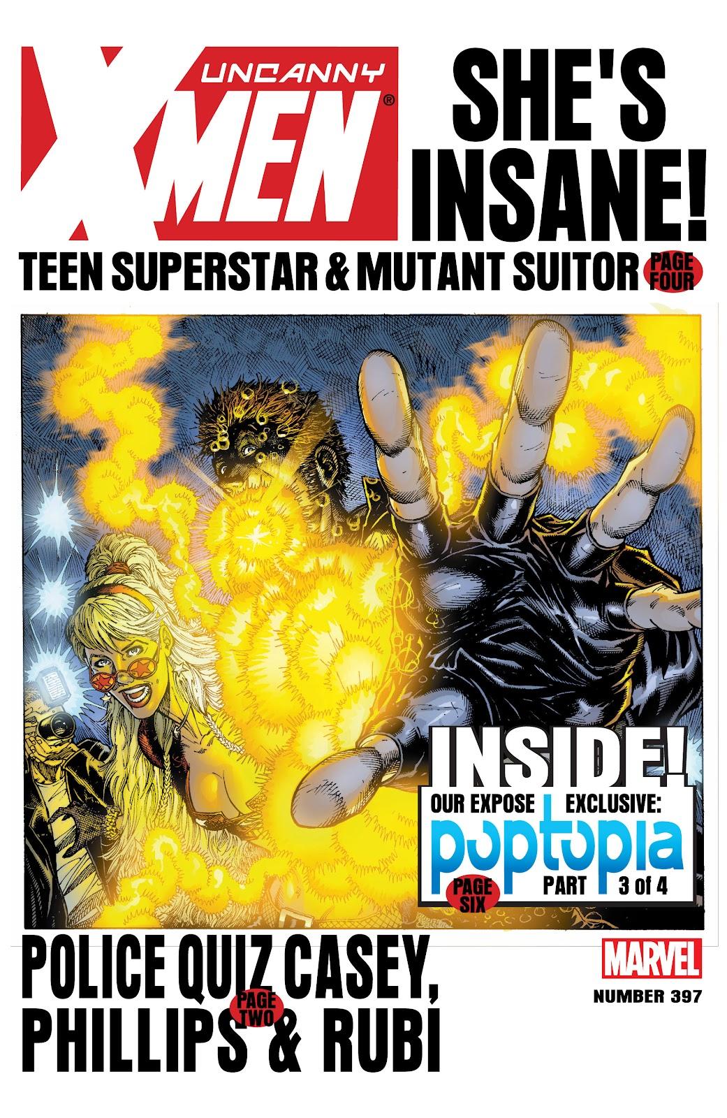 Uncanny X-Men (1963) issue 397 - Page 1