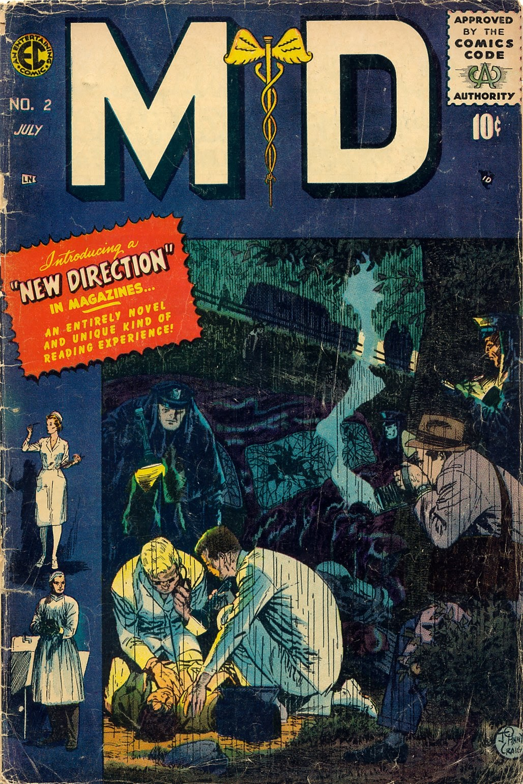 Read online M.D. comic -  Issue #2 - 1