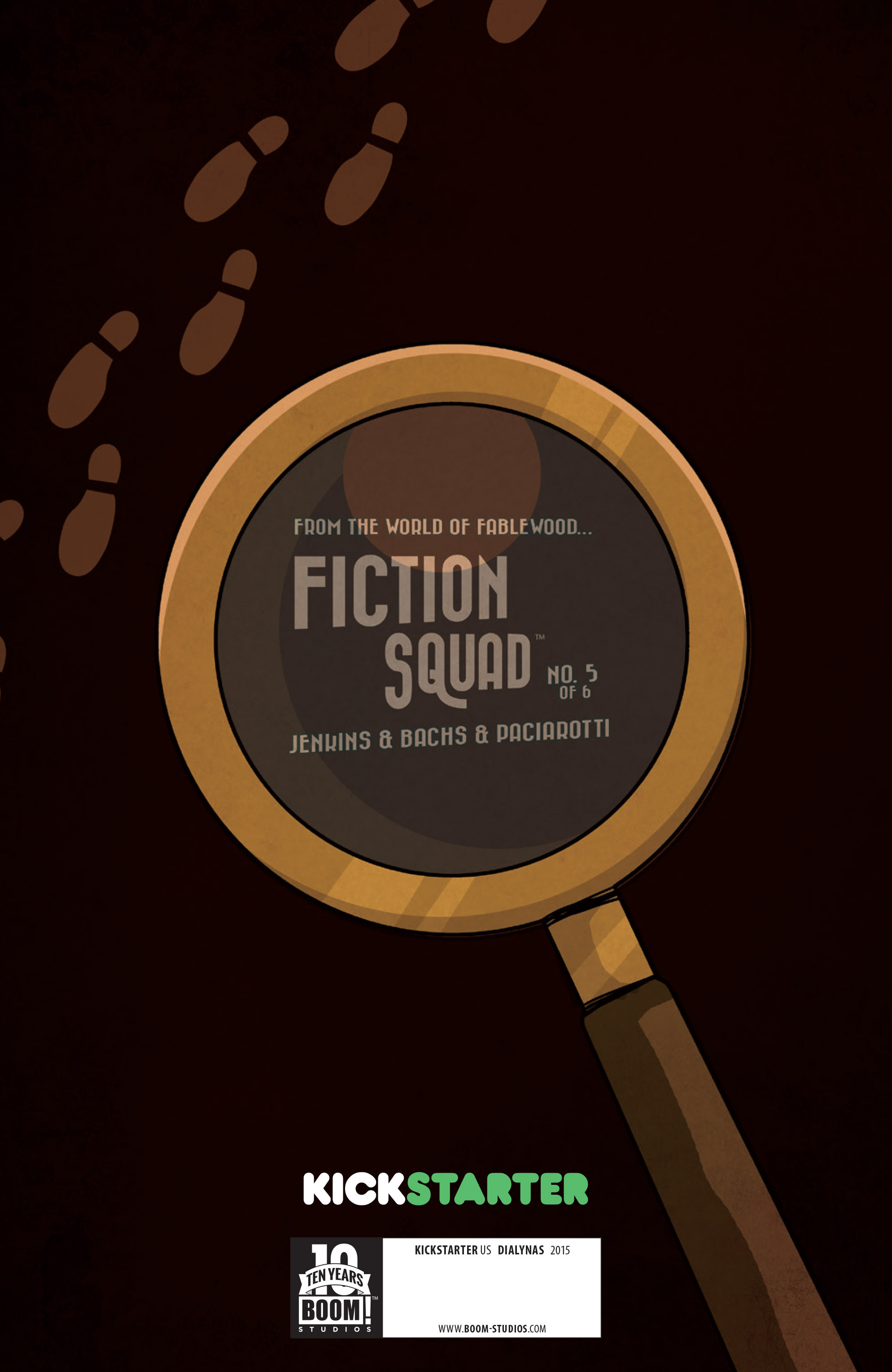 Read online Fiction Squad comic -  Issue #5 - 3