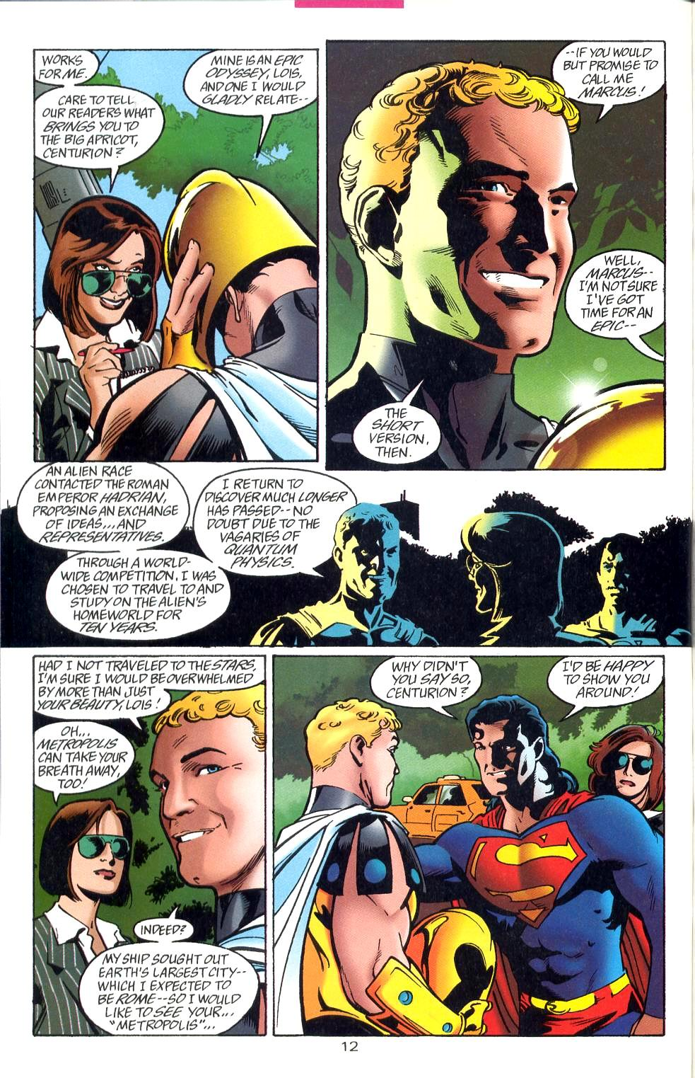 Read online Adventures of Superman (1987) comic -  Issue #527 - 13