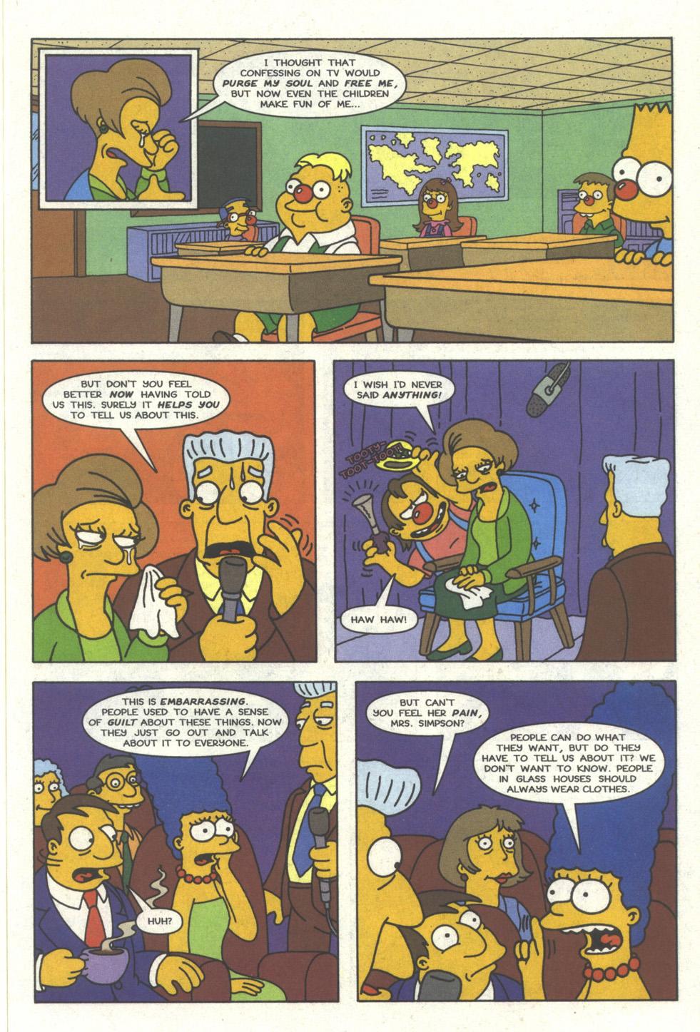 Read online Simpsons Comics comic -  Issue #25 - 8