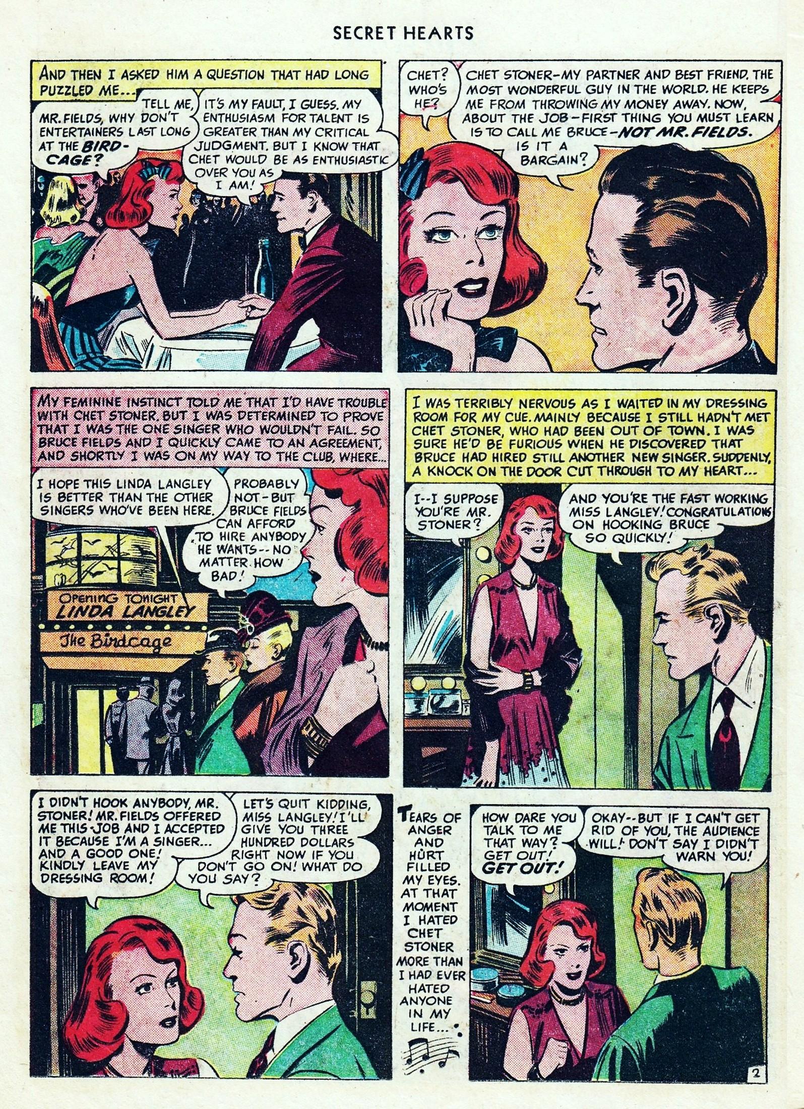 Read online Secret Hearts comic -  Issue #1 - 24