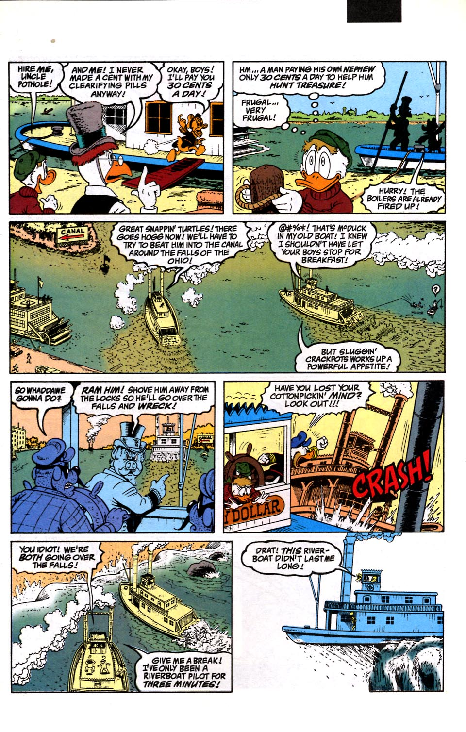 Read online Uncle Scrooge (1953) comic -  Issue #286 - 8
