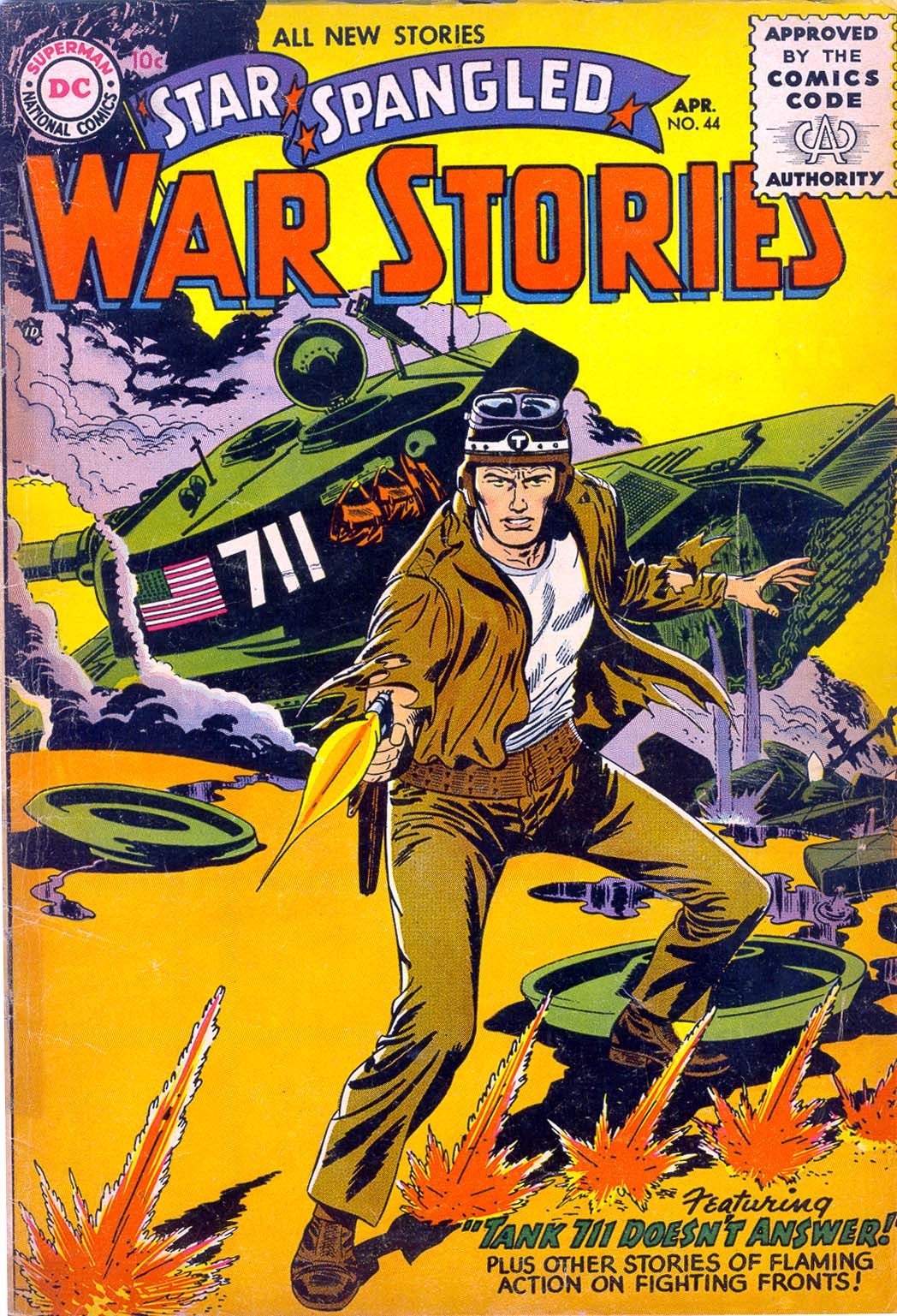 Star Spangled War Stories (1952) issue 44 - Page 1