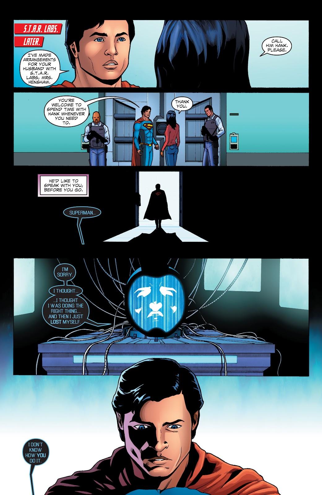 Read online Smallville Season 11 [II] comic -  Issue # TPB 1 - 117