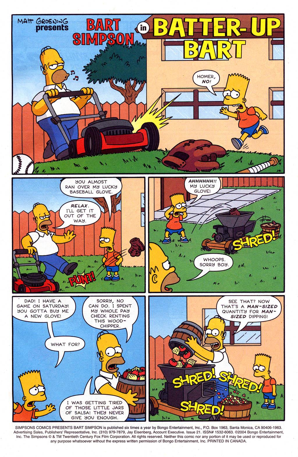 Read online Simpsons Comics Presents Bart Simpson comic -  Issue #21 - 3