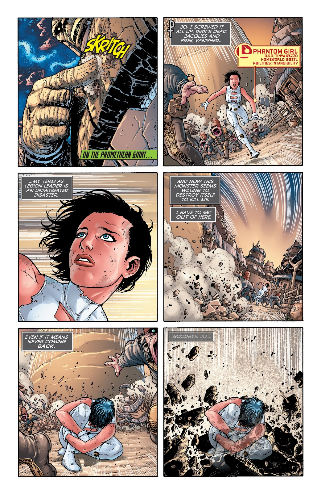 Legion of Super-Heroes (2011) Issue #20 #21 - English 5
