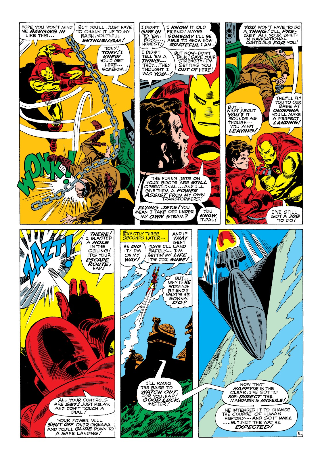 Read online Marvel Masterworks: The Invincible Iron Man comic -  Issue # TPB 4 (Part 1) - 43