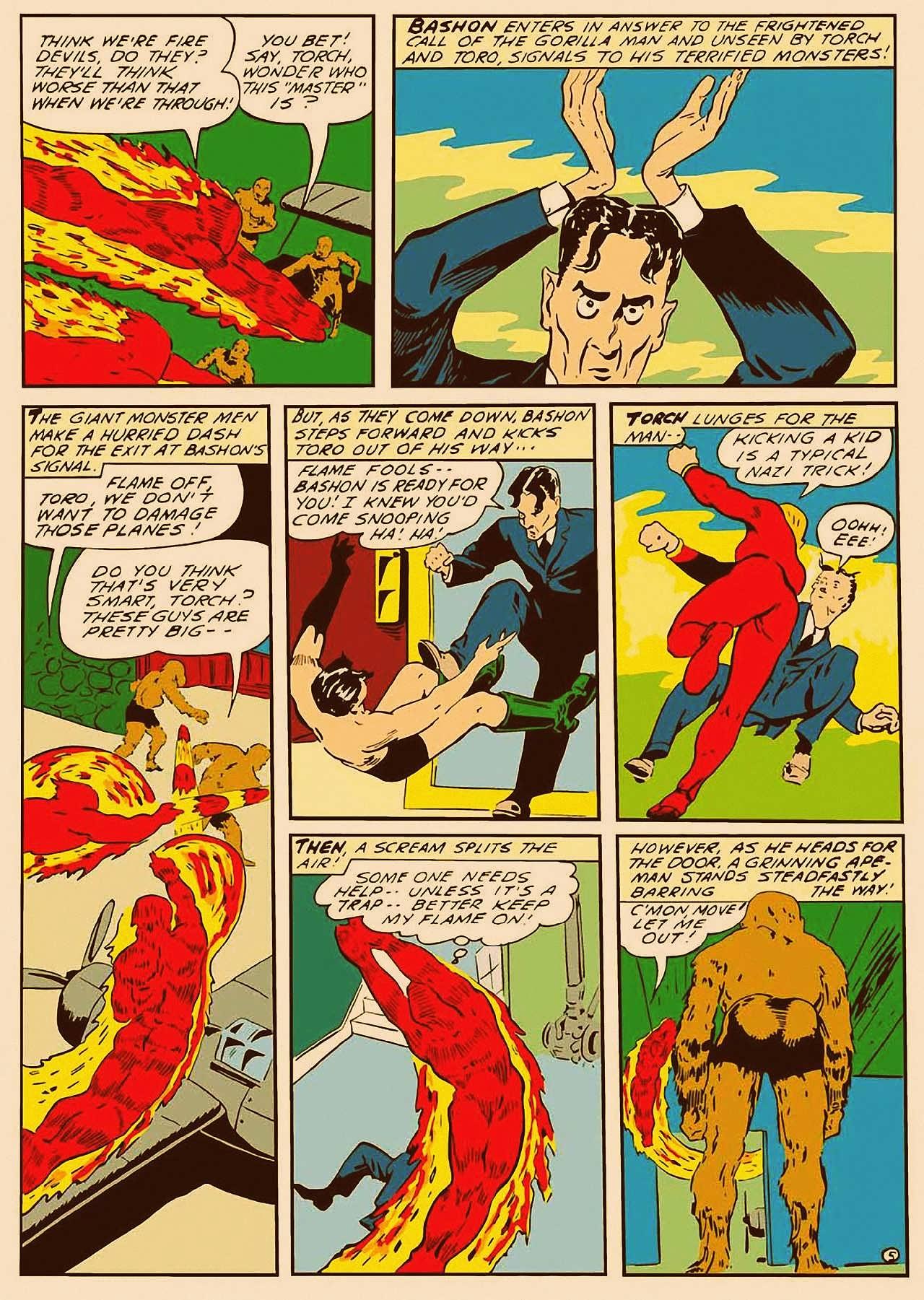 Read online All-Winners Comics comic -  Issue #9 - 6