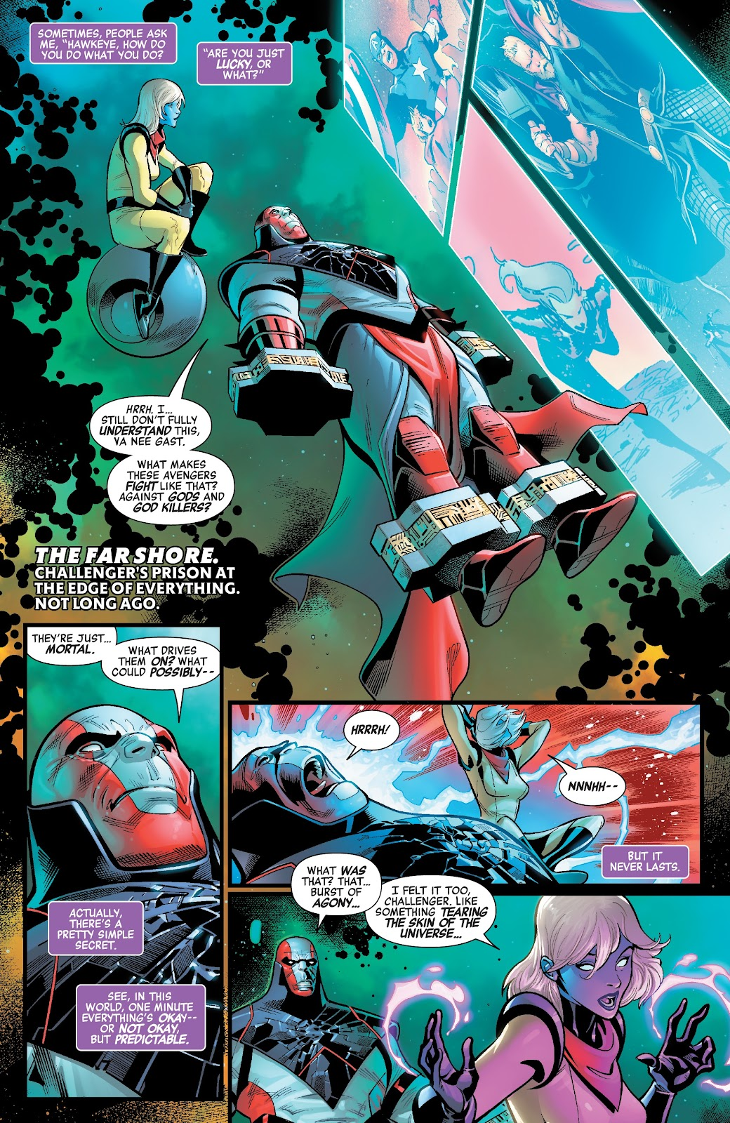 Read online Avengers No Road Home comic -  Issue #2 - 4
