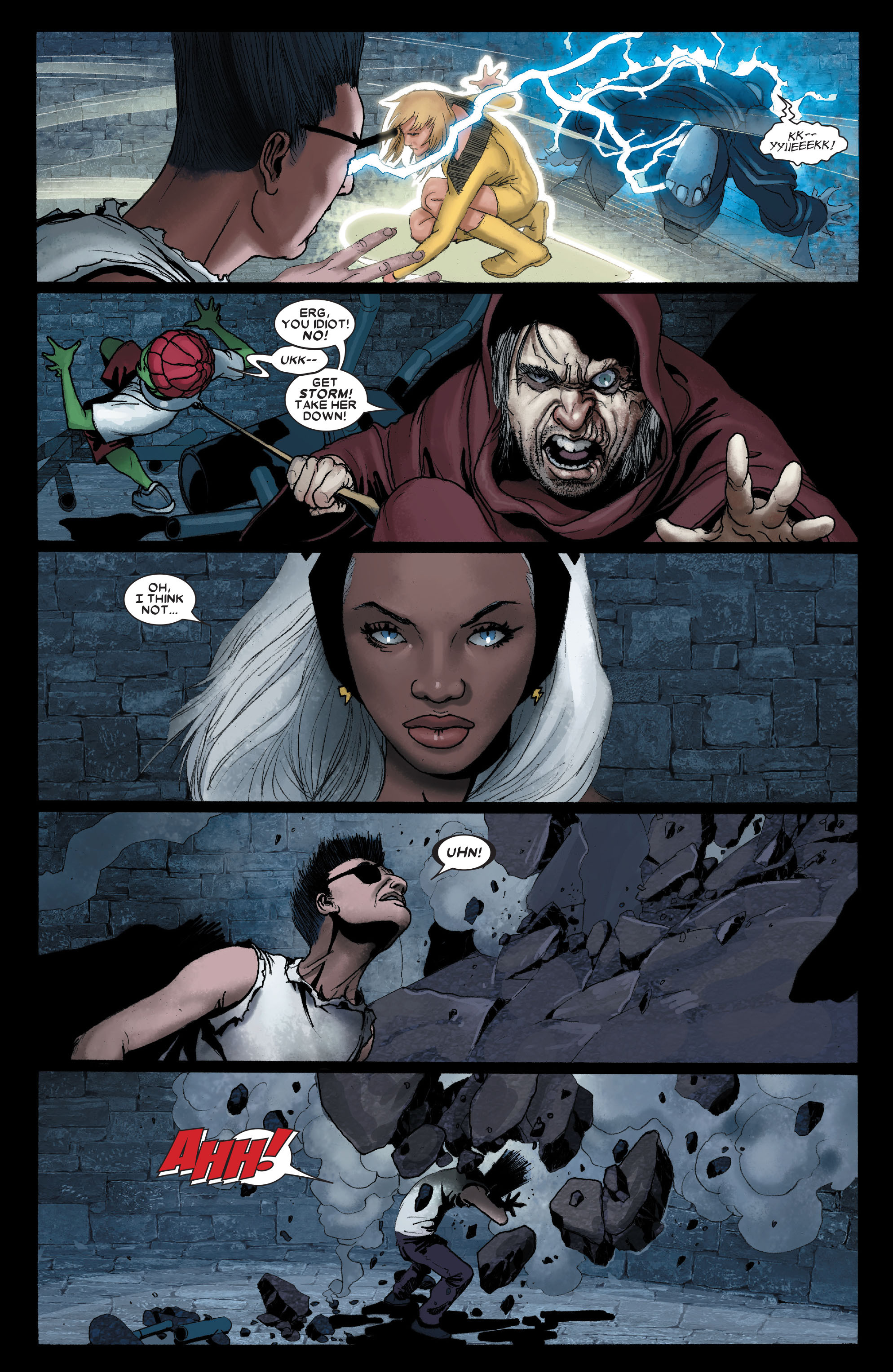 Read online Uncanny X-Men (1963) comic -  Issue #491 - 15