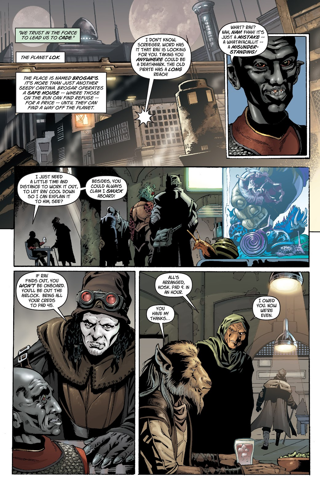 Read online Star Wars Legends: Legacy - Epic Collection comic -  Issue # TPB 1 (Part 1) - 35
