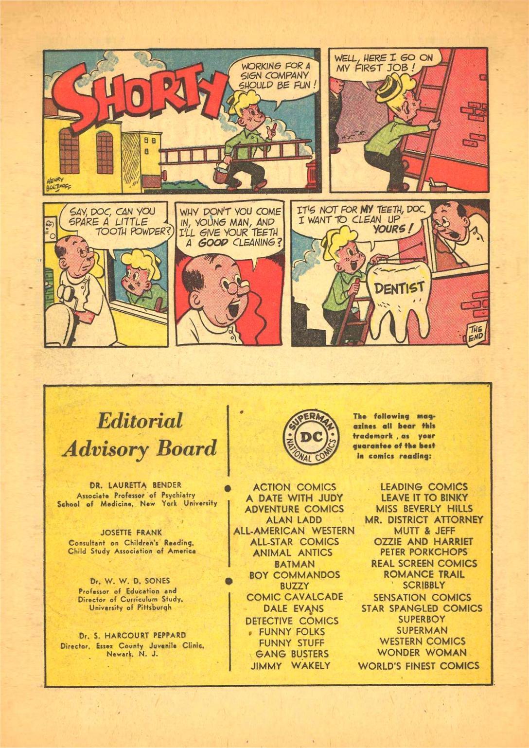 Read online Adventure Comics (1938) comic -  Issue #148 - 22