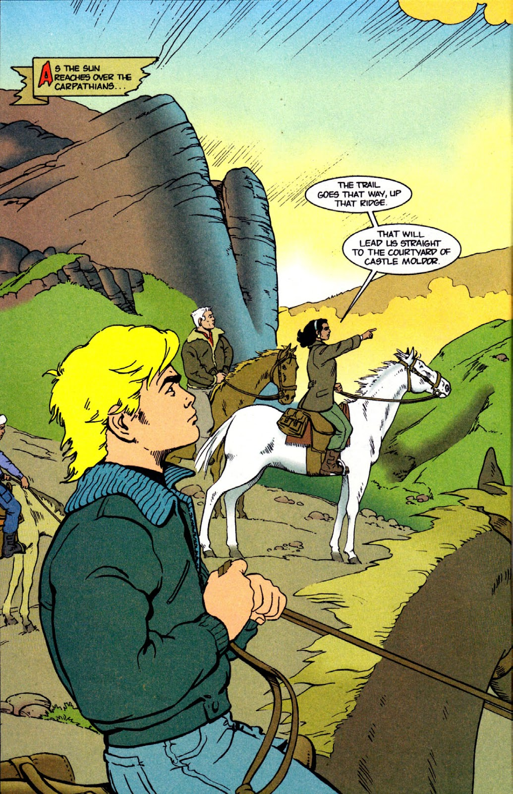 Read online The Real Adventures of Jonny Quest comic -  Issue #4 - 12
