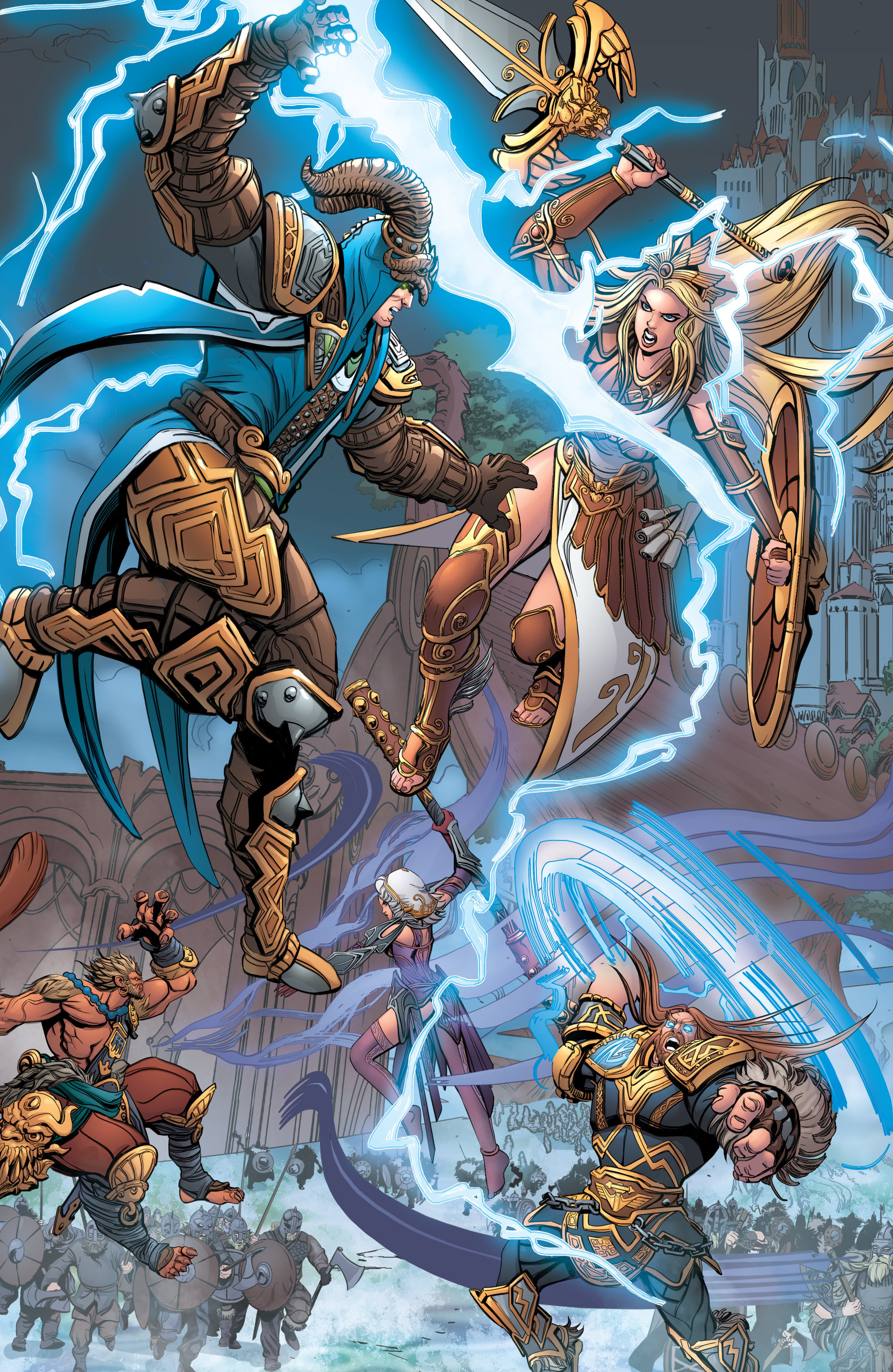Read online SMITE: The Pantheon War comic -  Issue #3 - 12
