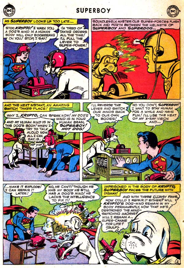Superboy (1949) issue 71 - Page 3