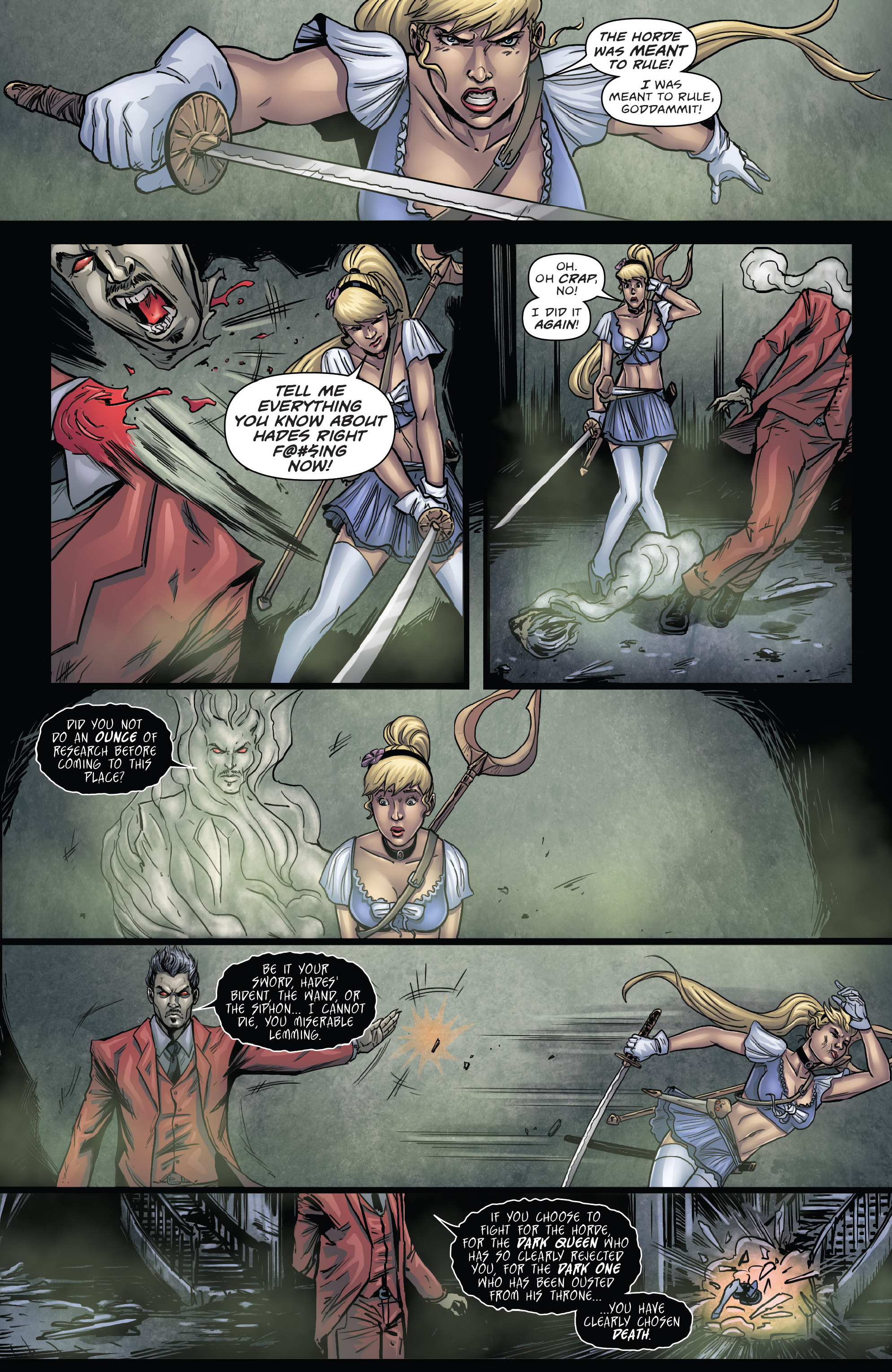 Read online Grimm Fairy Tales presents Cinderella: Age of Darkness comic -  Issue #2 - 11