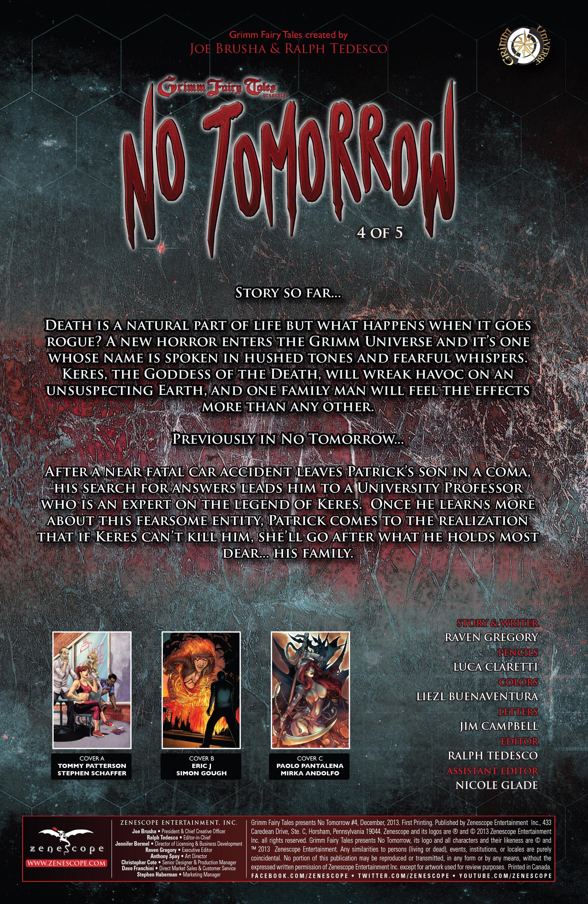 Read online Grimm Fairy Tales presents No Tomorrow comic -  Issue # TPB - 75