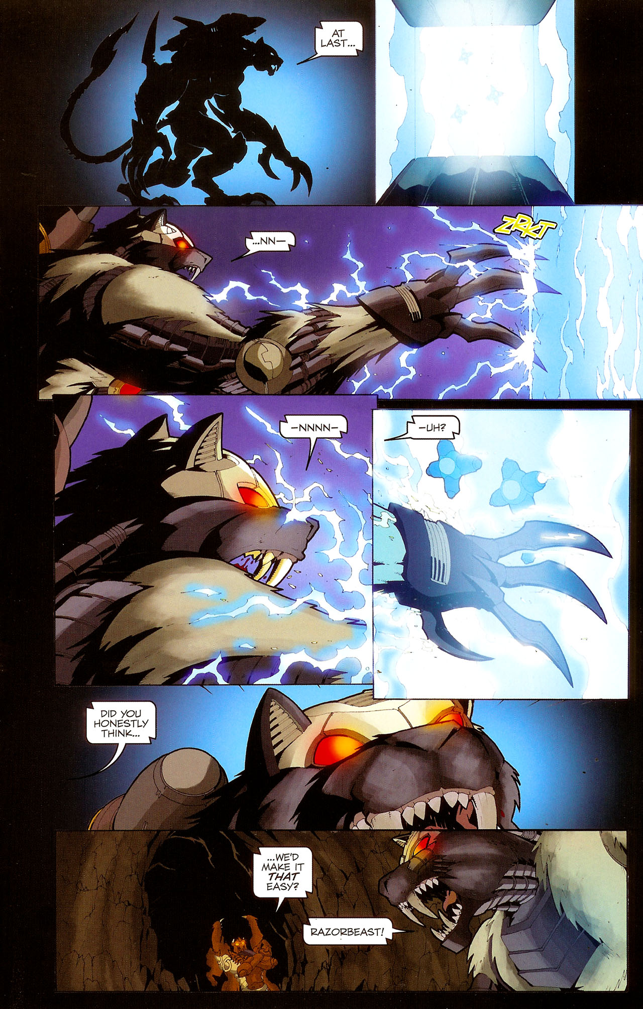 Read online Transformers: Beast Wars: The Ascending comic -  Issue #1 - 15
