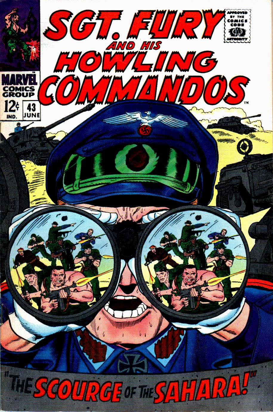 Read online Sgt. Fury comic -  Issue #43 - 1