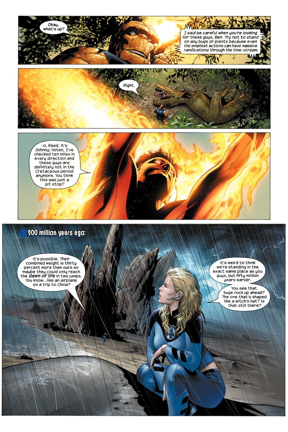 Read online Ultimate Fantastic Four (2004) comic -  Issue #21 - 5