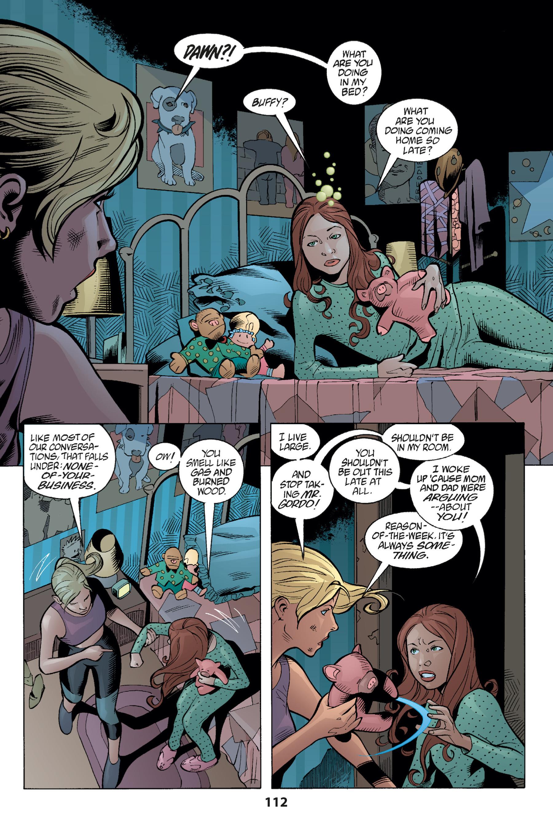 Read online Buffy the Vampire Slayer: Omnibus comic -  Issue # TPB 1 - 111