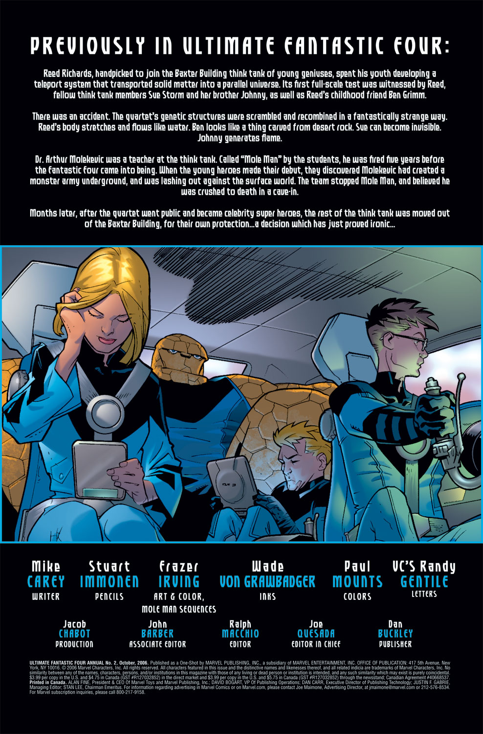 Read online Ultimate Fantastic Four (2004) comic -  Issue # _Annual 2 - 2